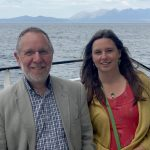 Polly and Brien from the Impact Hub Inverness