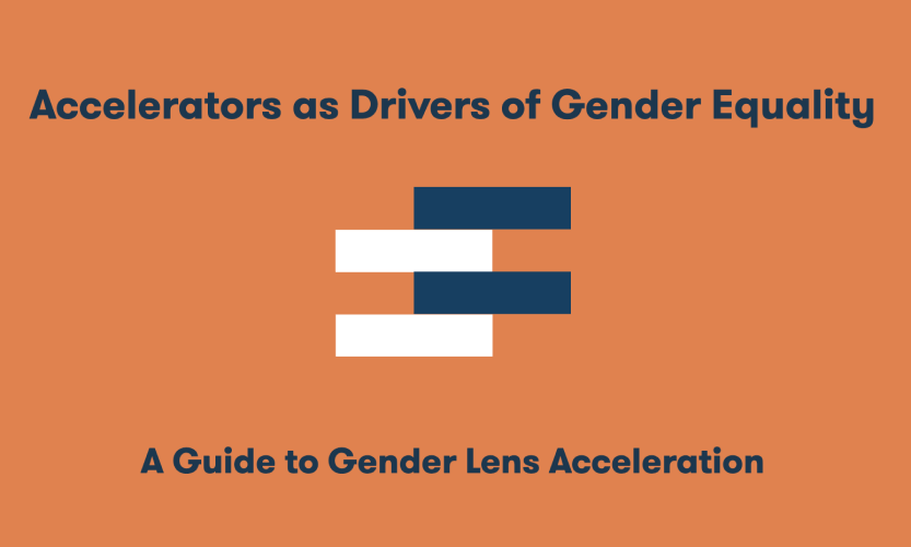 Accelerators as drivers of Gender Equality