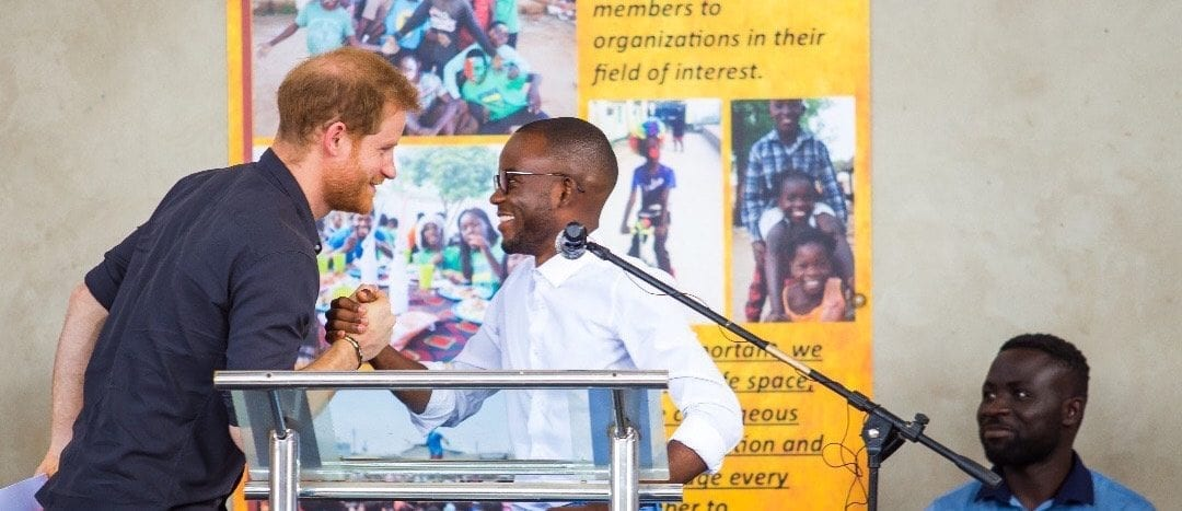 Prince Harry, the Duke of Sussex, Visits Impact Hub Lusaka
