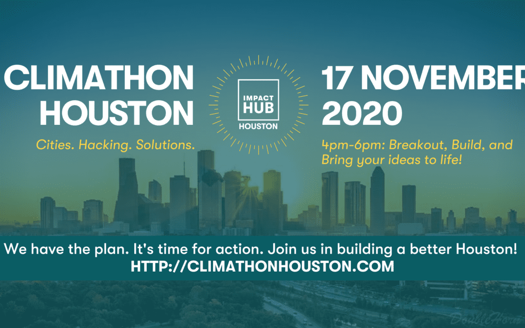 Climathon 2020: Final Stretch Work Night!
