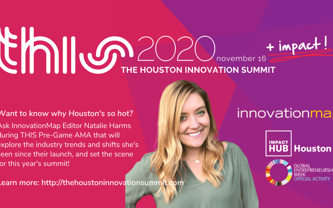 #THIS2020 Pre-Game AMA with InnovationMap Editor Natalie Harms